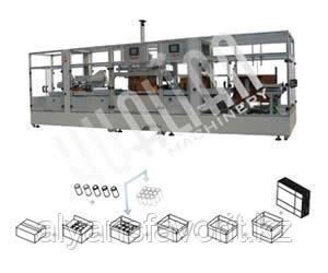 Автоматическая упаковочная линия для сборки, укладки и заклейки коробов CZF, фото 2