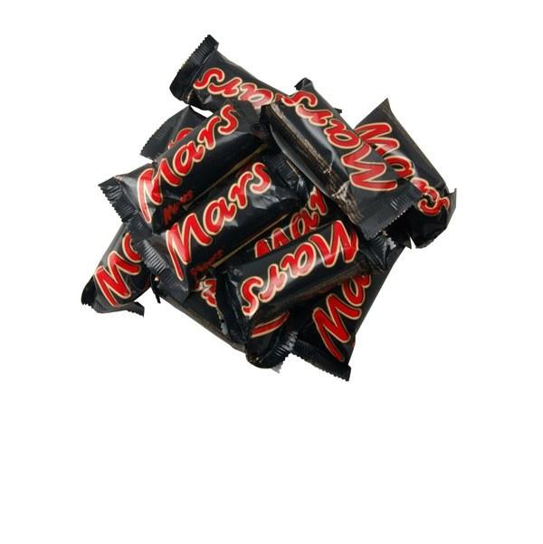 Шоколадные батончики Mars minis (марс мини)  1кг