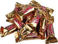 Шоколадные батончики Twix minis (твикс мини)  1кг