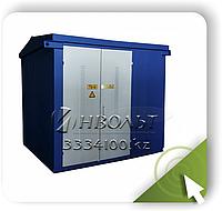 КТП-ВК (ВВ) 630/10(6)/0,4 Автомат 1000А  Ввод через высоковольтный разъединитель, фото 1