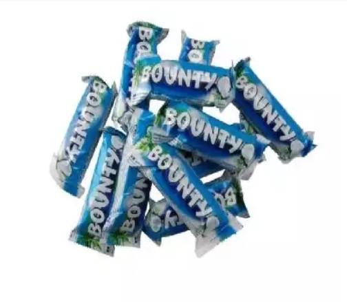 Шоколадные батончики Bounty minis (Баунти мини)  1кг