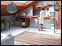 Установка теплого электрического пола в ванной комнате