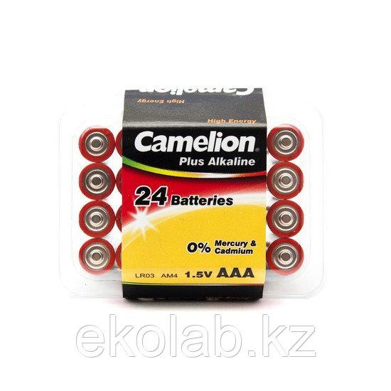 Батарейка CAMELION Plus Alkaline LR03-PB24 24 шт