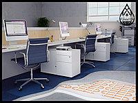 Установка теплого электрического пола в офисах