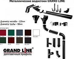 Водосточная система GrandLine 125/90мм Премиум