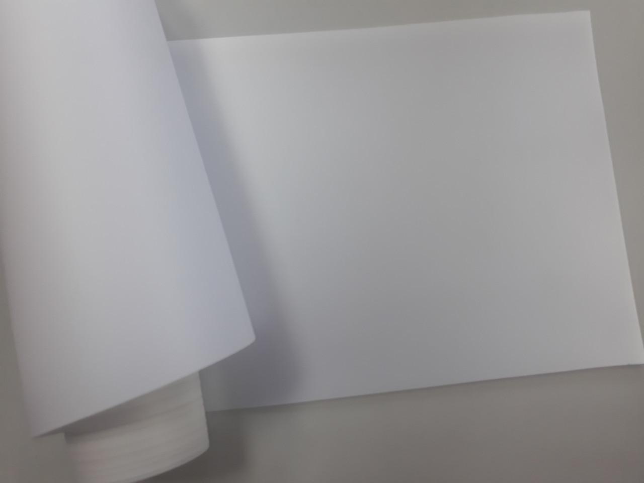 Скролерная бумага для сольвентной печати  2,8 х 76