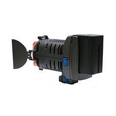 Накамерный прожектор LED 5001 + аккум.+зарядка, фото 3
