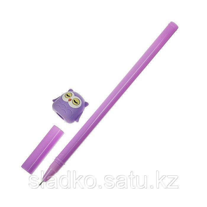 Ручка гелевая Сова - фото 2