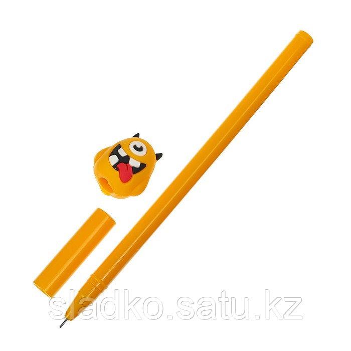 Ручка гелевая Монстр - фото 2