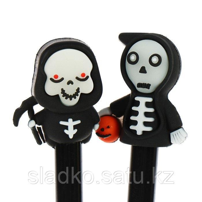 Ручка гелевая Скелет - фото 4