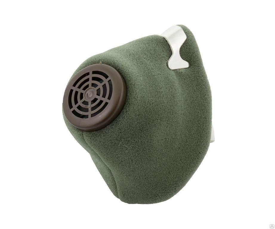 РЕСПИРАТОР У-2К зелёный