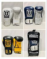 Перчатки для бокса и кикбоксинга Ultimatum Boxing натуральная кожа размер 12-14 OZ