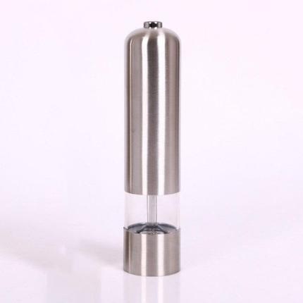 Электрическая мельница для соли и перца из нержавеющей стали, фото 2