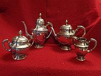 Антикварный Чайный/кофейный набор 800 проба серебра