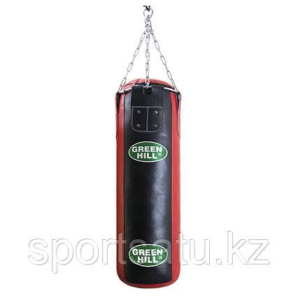Мешок боксерский GREEN HILL оригинал кожа 150х30см