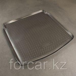 Коврик в багажник Audi A4 sedan (07-) полимерный L.Locker