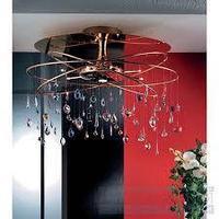 Потолочные светильники DLU 2365/8+1/75x50 gold