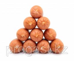 Съедобная коллагеновая сосисочная оболочка D 23 цвет карамель, фото 2