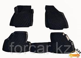 3D Коврики в салон Audi A4 (08-) (полимерные) L.Locker