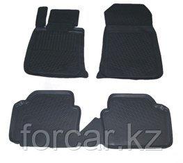 Коврики в салон BMW 3 серия sedan (05-12) (полимерные) L.Locker