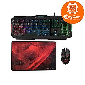 Комплект клавиатура, мышь и коврик Mars Gaming MCP118 Арт.6529