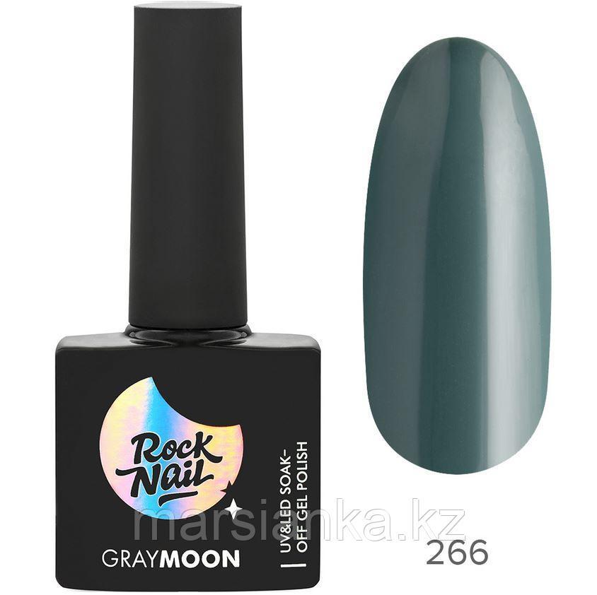 Гель-лак RockNail Gray Moon #266 Wet Forest, 10мл