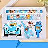 Детский подарочный набор канцелярских принадлежностей 7 предметов, фото 3