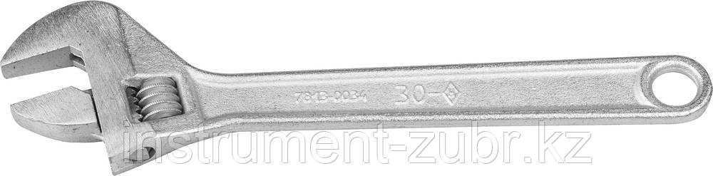 Ключ разводной КР-30, 250 / 30 мм, НИЗ