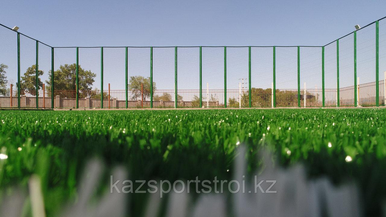Строительство футбольного поля открытого типа