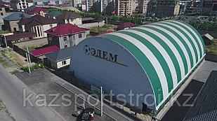 Строительство футбольного поля крытого типа под ключ