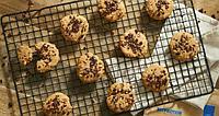 Печенье без муки с арахисовой пастой