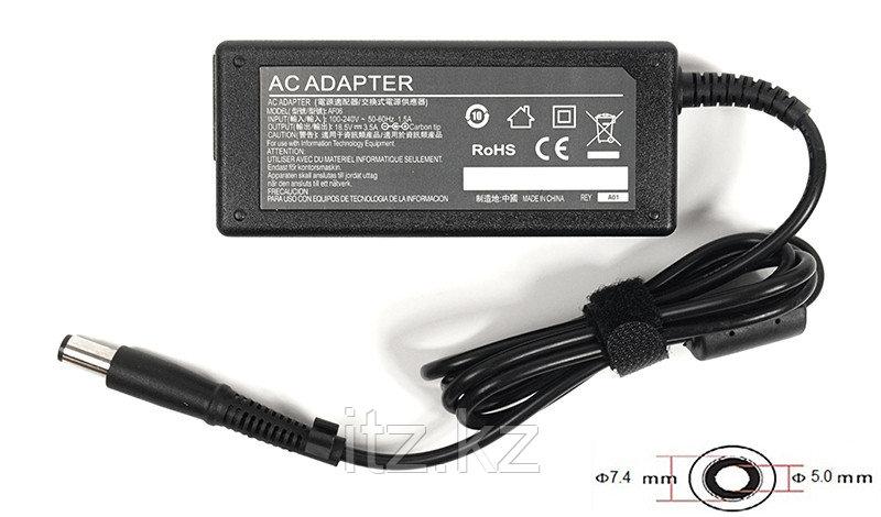 Блок питания для ноутбуков PowerPlant HP 220V, 18.5V 65W 3.5A (7.4*5.0)