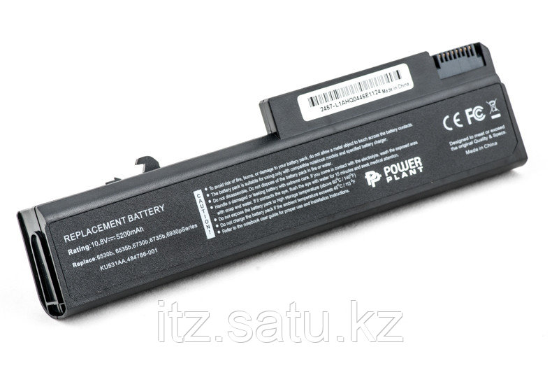 Аккумулятор PowerPlant для ноутбуков HP EliteBook 6930p (HSTNN-UB68, H6735LH) 10.8V 5200mAh