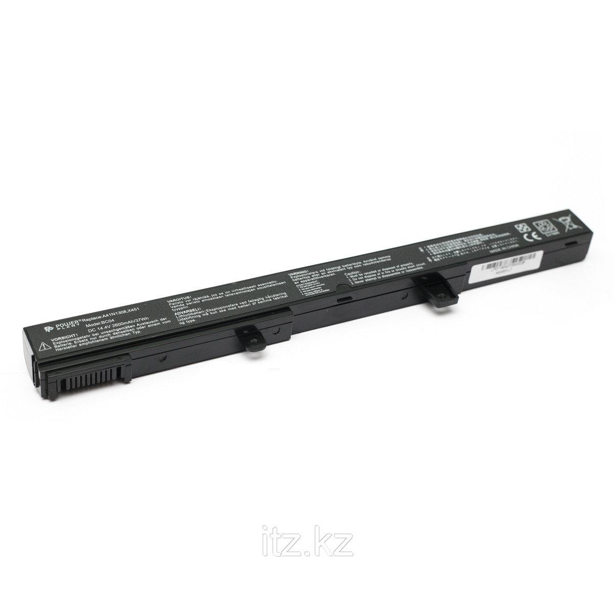 Аккумулятор PowerPlant для ноутбуков ASUS X451(A41N1308, ASX551L7) 14.4V 2600mAh