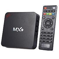 TV Box MX9 + 1/8 Гб, ТВ приставка Smart TV Box Android  4K Rockchip RK3229 smartbox