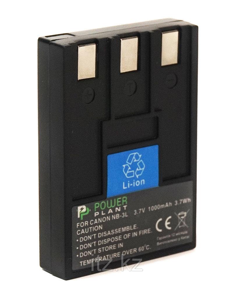 Аккумулятор PowerPlant Canon NB-3L 1000mAh
