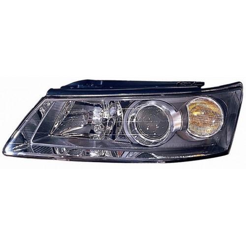 Фара левая Hyundai Sonata (2005-2009)