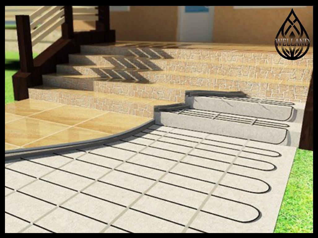 Обогрев лестниц. Монтажные работы, реконструкция оборудования
