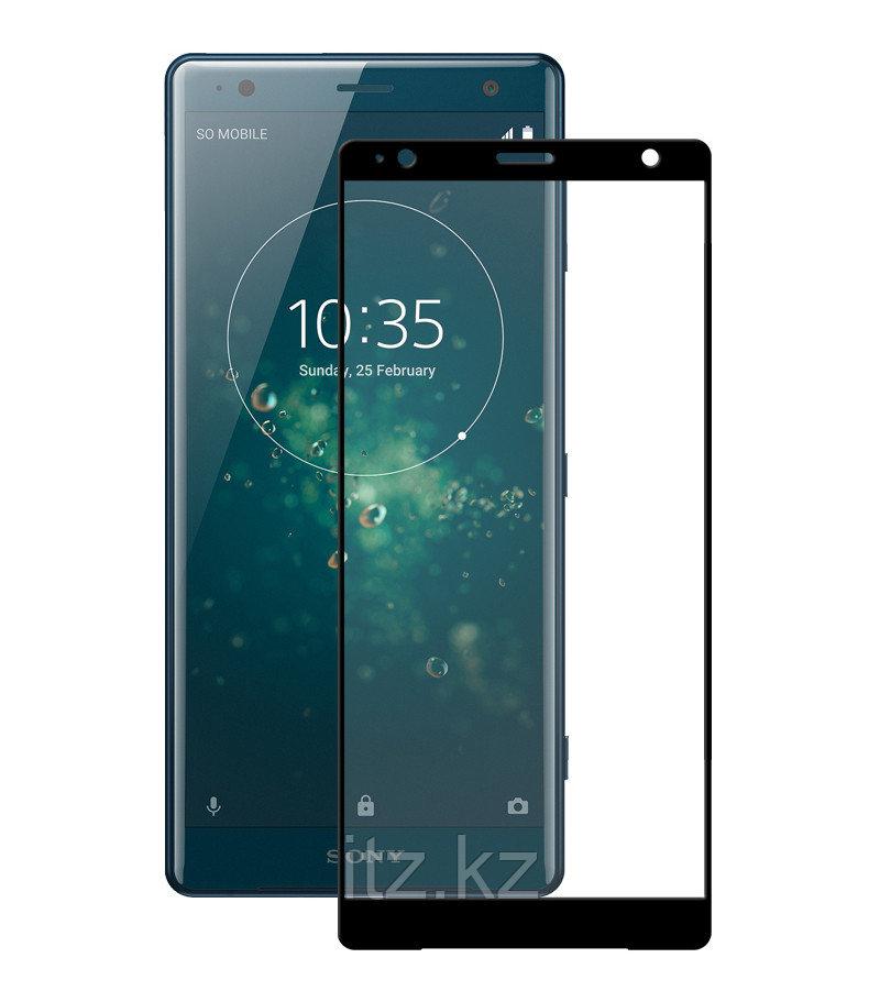 Защитное стекло Full screen PowerPlant для Sony Xperia XZ2, Black