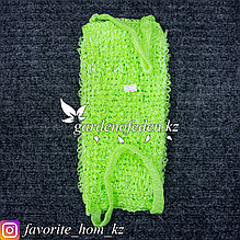 Мочалка для тела. Материал: Синтетика. Цвет: Зеленый.