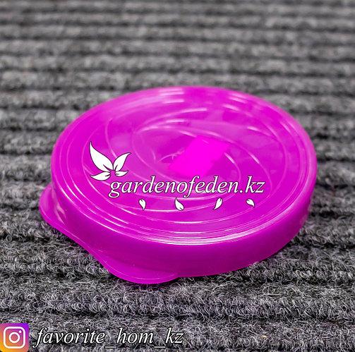 Крышка пластиковая для банки. Материал: Пластик. Цвет: Розовый.