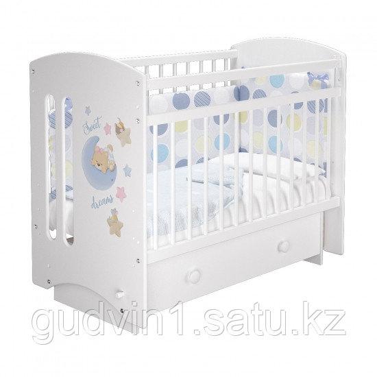 """Кровать детская Можгамебель """"Селеста 3"""" Соня, белый"""