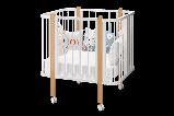 Кроватка трансформер Можгамебель «Оливия», белая,сл.кость, фото 6