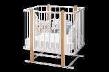 Кроватка трансформер Можгамебель «Оливия», белая,сл.кость, фото 7