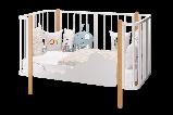 Кроватка трансформер Можгамебель «Оливия»,слоновая кость, фото 3