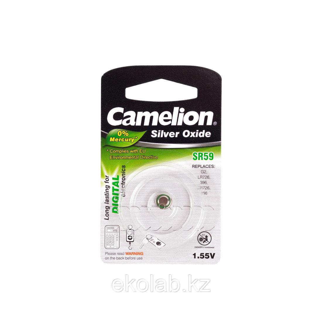 Батарейка CAMELION Silver Oxide SR59-BP1(0%Hg)