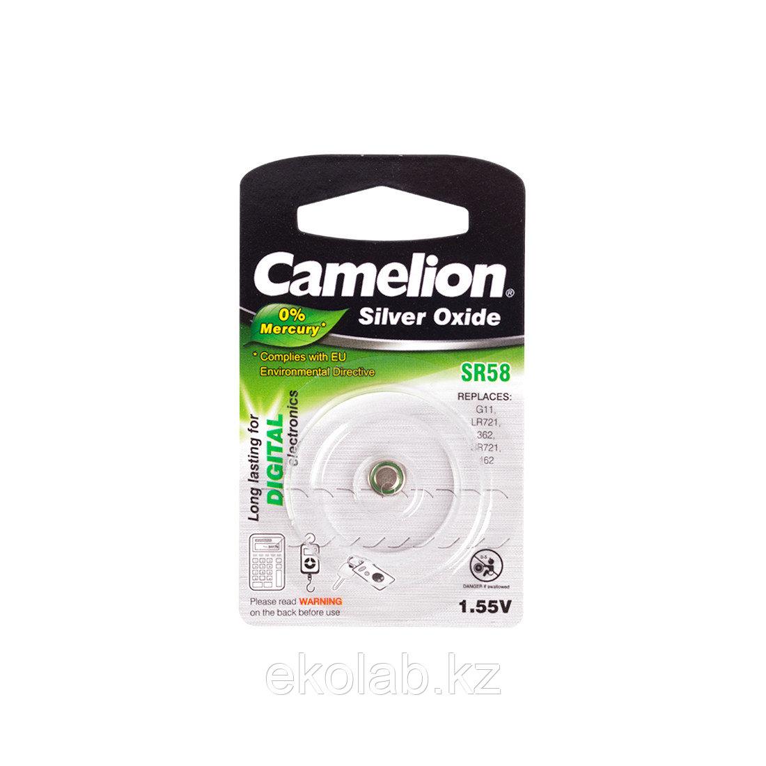 Батарейка CAMELION Silver Oxide SR58