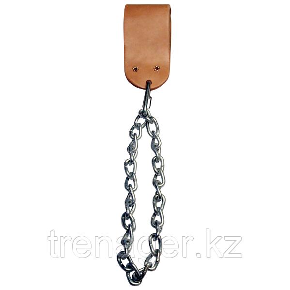 Аксессуар на пояс для подвешивания отягощений, кожаный