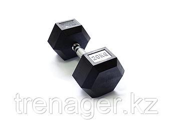 Гантель 20 кг гексагональная