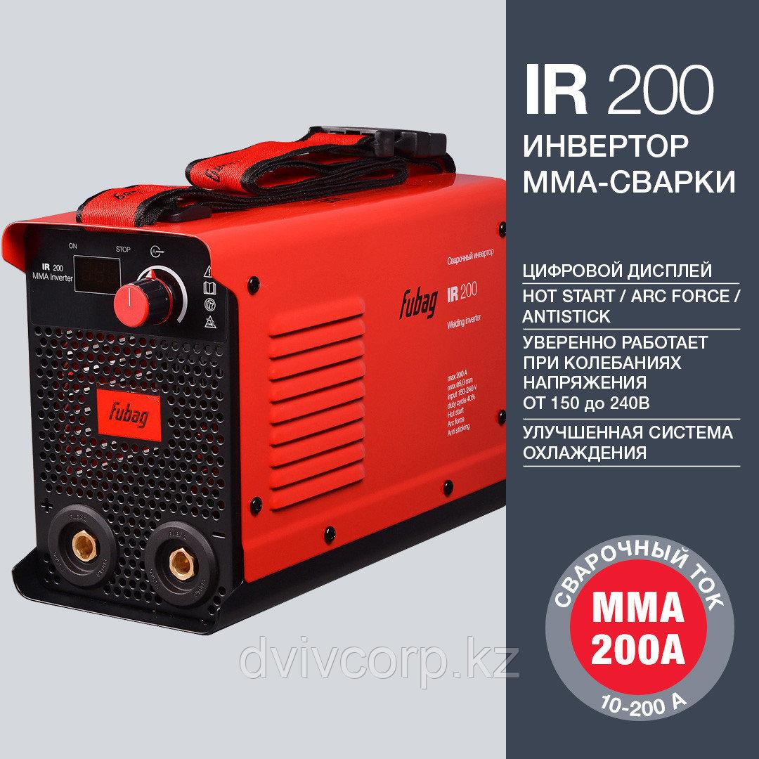 FUBAG Инвертор сварочный IR 200